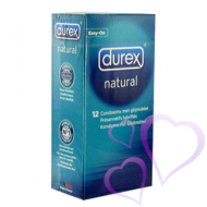 Durex, Natural - kondomi 12kpl