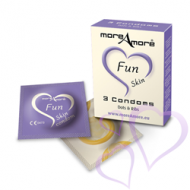 MoreAmore, Fun Skin - Kondomit 3kpl