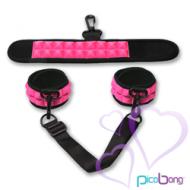 PicoBong - Resist No Evil Cuffs Pinkki