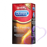 Durex, Real Feeling - Kondomit, 10kpl