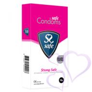 Safe, Strong Safe - Superkestävät kondomit, 10kpl