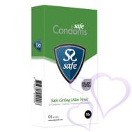 Safe, Safe Caring (Aloe Vera) - kondomit, 10kpl