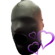 Kiihottava Kypärähuppu, musta