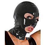 LateX - Maski, musta