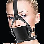 Leather Mouth Gag, musta