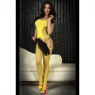 Keltainen Bodystocking. S-L