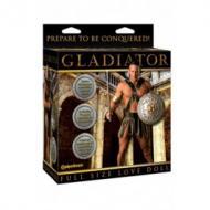 Gladiator Love Doll, kahden aukon komea mies
