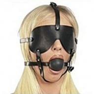 Ball Gag with Blinder