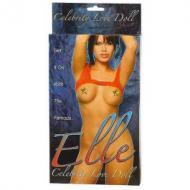 Elle Celebrity Love Doll, täispuhutav kumminukk kolme avaga