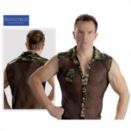 "Men's Shirt, verkkopaita ""Militaar"""