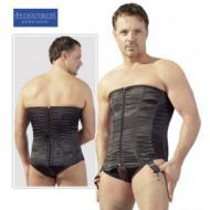 Men's corset black, Miesten korsetti