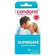 Condomi Supersafe 10 kpl