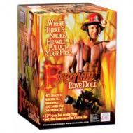 Fireman Love Doll, puhallettava palomiesnukke