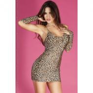 Minidress Leopard +Glove
