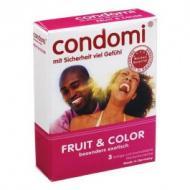 Condomi Fruit&Colour - kondomit 3kpl