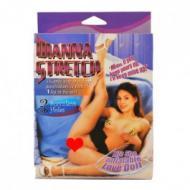 Dianna Stretch, kyljellään oleva nukke.