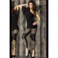 Leopardikuvioiset legginssit,koko S/M