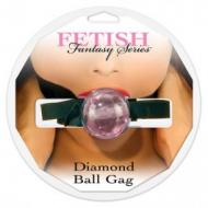 Diamond Ball Gag, pinkki - suupallo