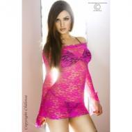 Pink long sleeve babydol