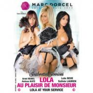 DVD Soubrettes services - Lola, au plaisir de Monsieur