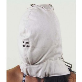 Canvas headgear, white